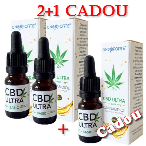 Gemeinsame Oncoforte CBD ULTRA Basic 2% - 2+1 Cadou @MA_62
